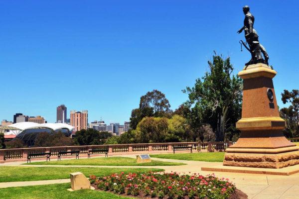 Adelaide-The-Colonel-Light-Statue